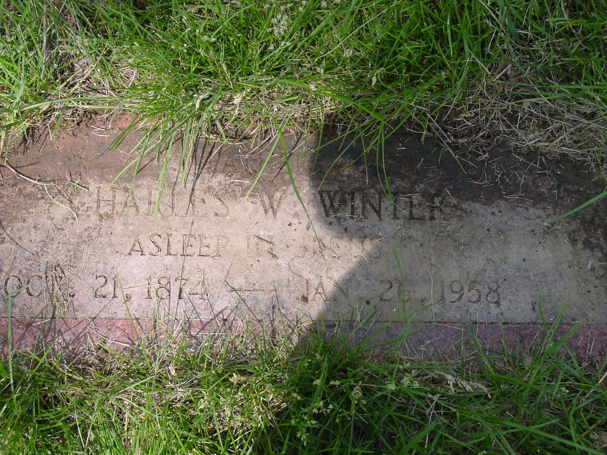Charles Wesley Winter