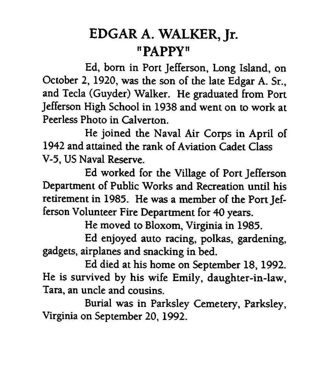 Edgar Allen Walker