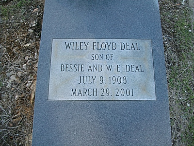 Wiley R Deal