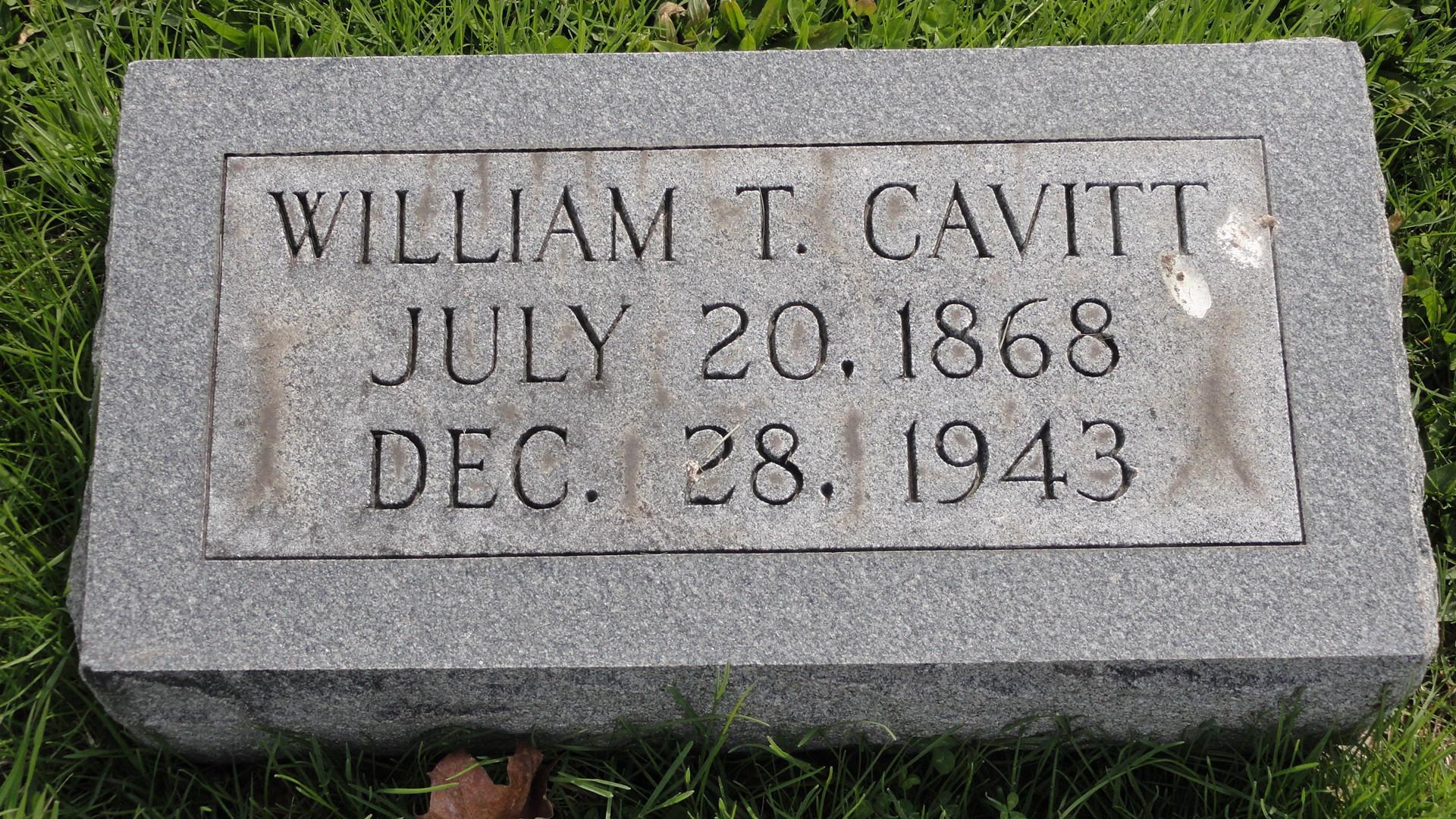 William R Cavitt