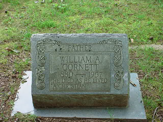 William Andrew Cornett