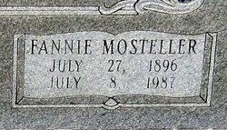 Fannie Mosteller