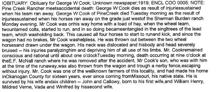 George Washington Cook