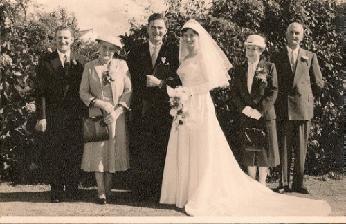 Joan and Ron Wedding