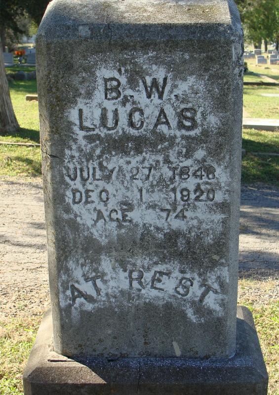 Benjamin W Lucas