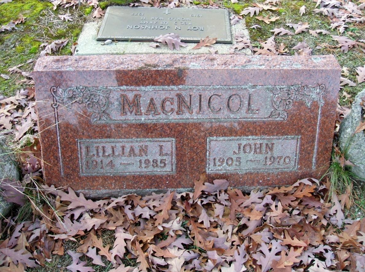 Lillian M Mcnichol