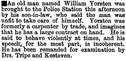 William W Yorston