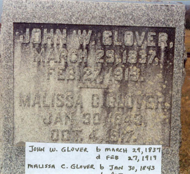 John W Glover