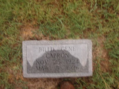 Billie Gene Capron