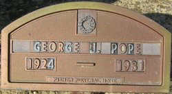 George A Pope