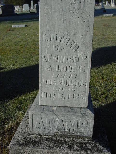 Hannah Harriet Leonard