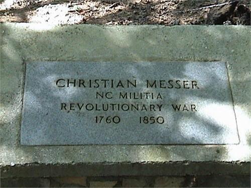Christian Sargent Messer