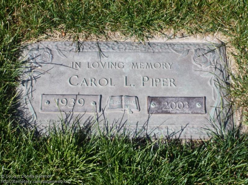 Carol Piper