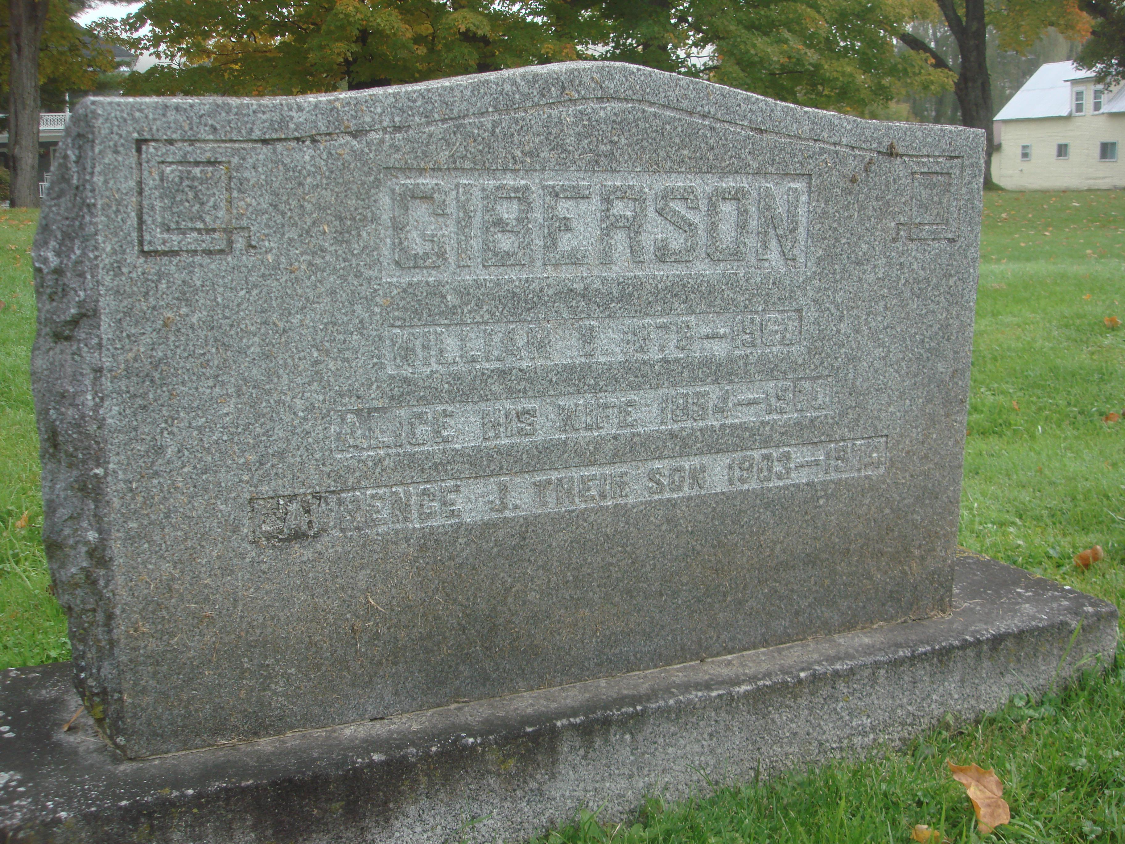 William J Giberson