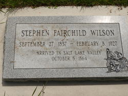 Stephen Fairchild Wilson