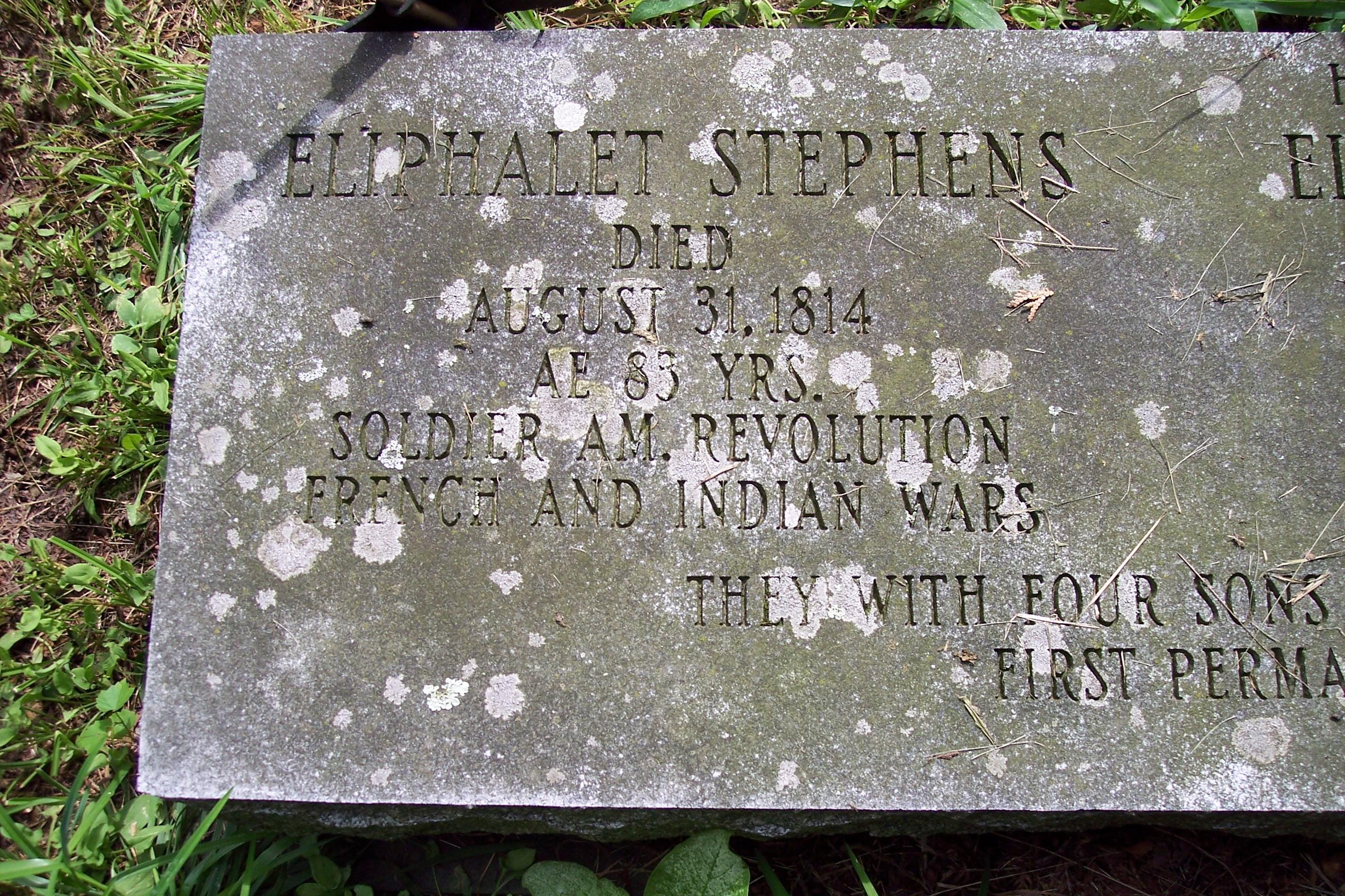 Eliphalet Stephens