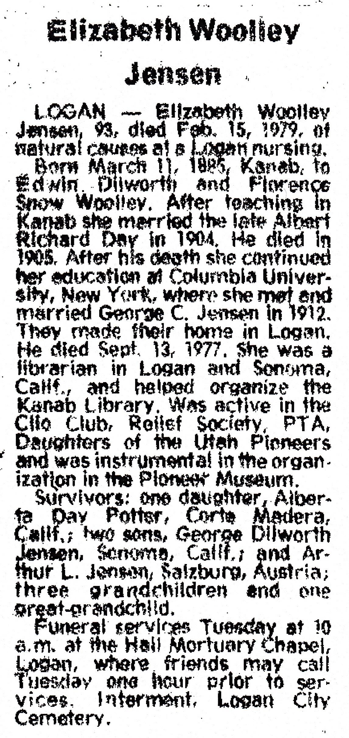 Elizabeth Price Woolley