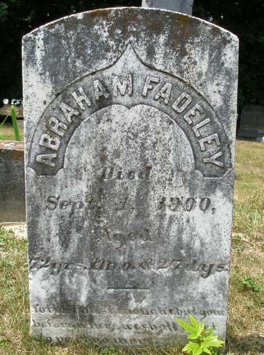 George Fadeley