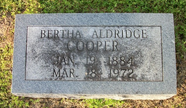 Bertha L Aldridge