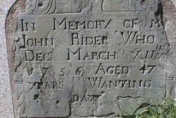 John Rider