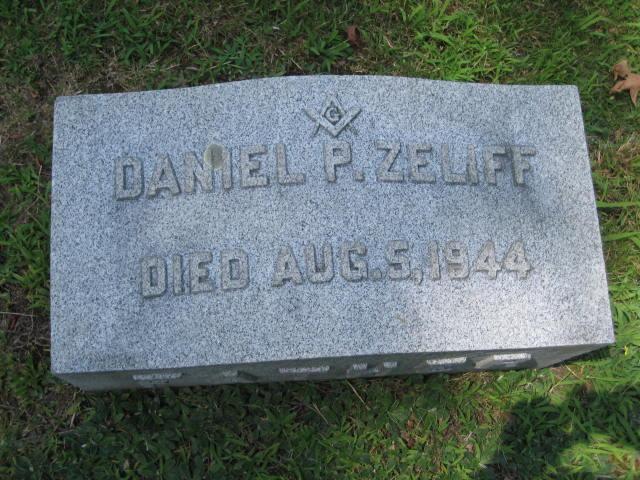 Daniel P Zeliff