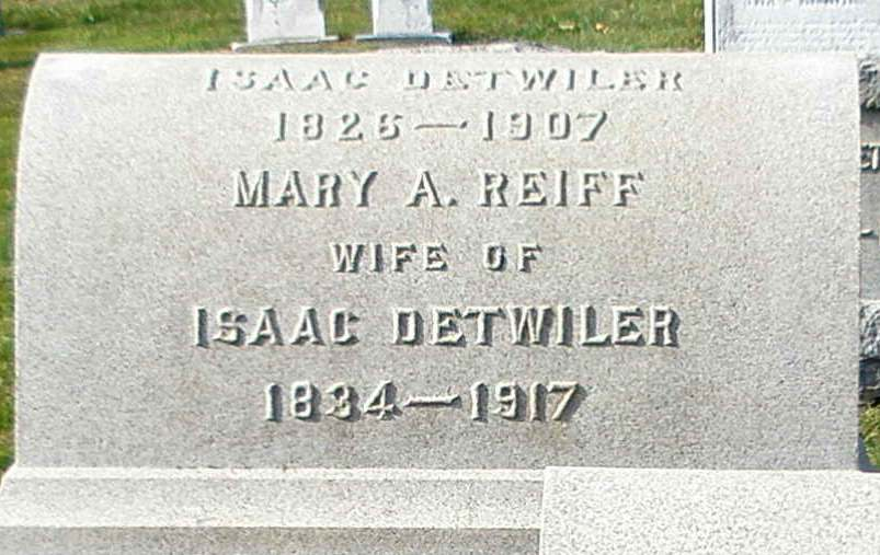 Mary Anne Reiff