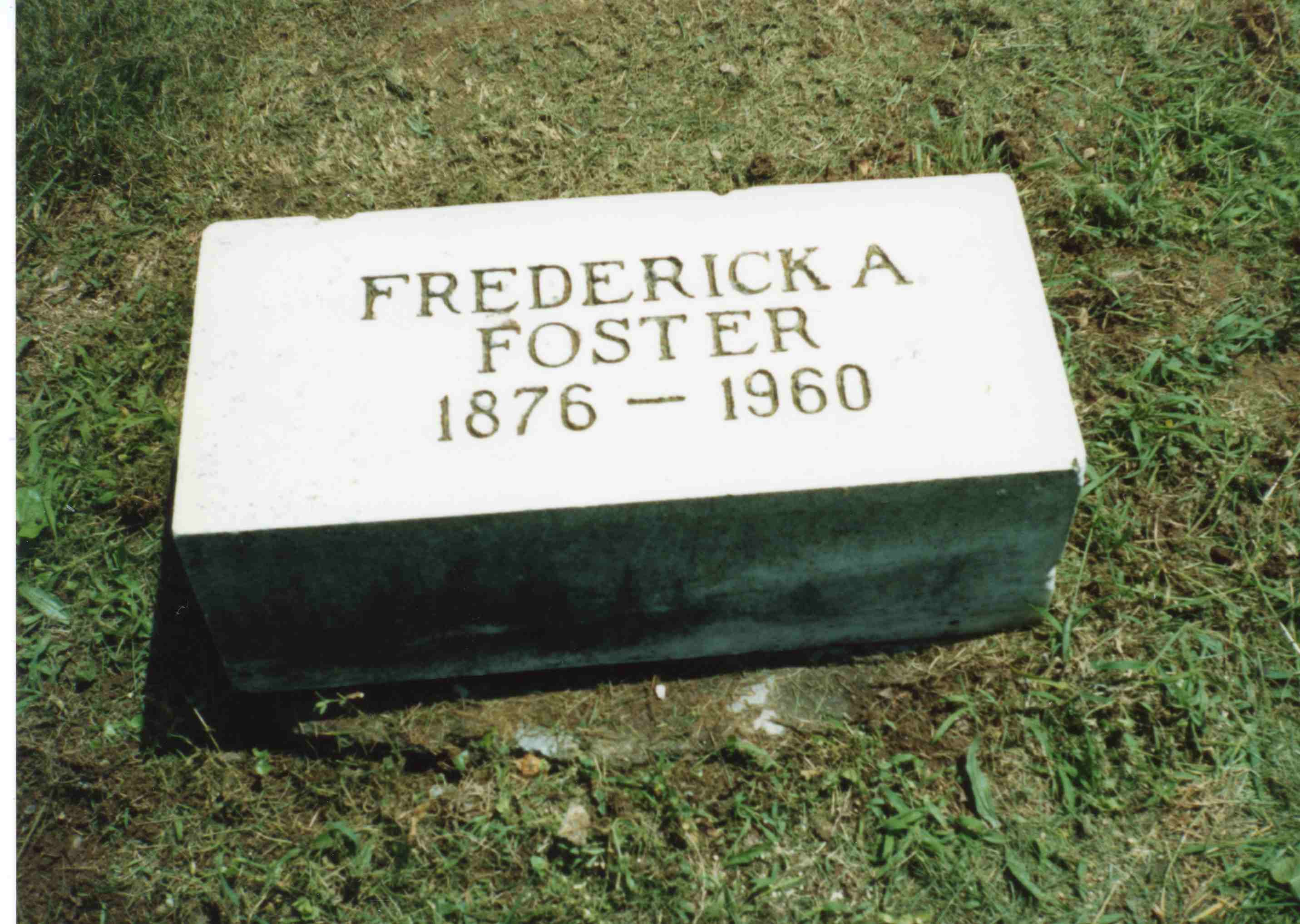 Frederick H Foster