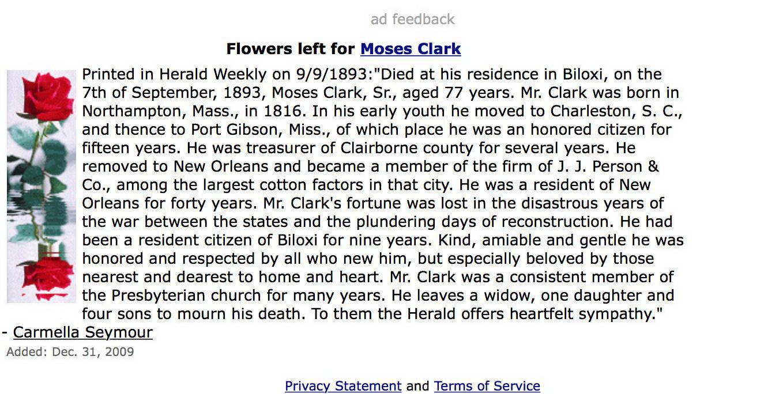 Moses Clark