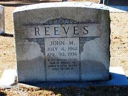 John H Reaves