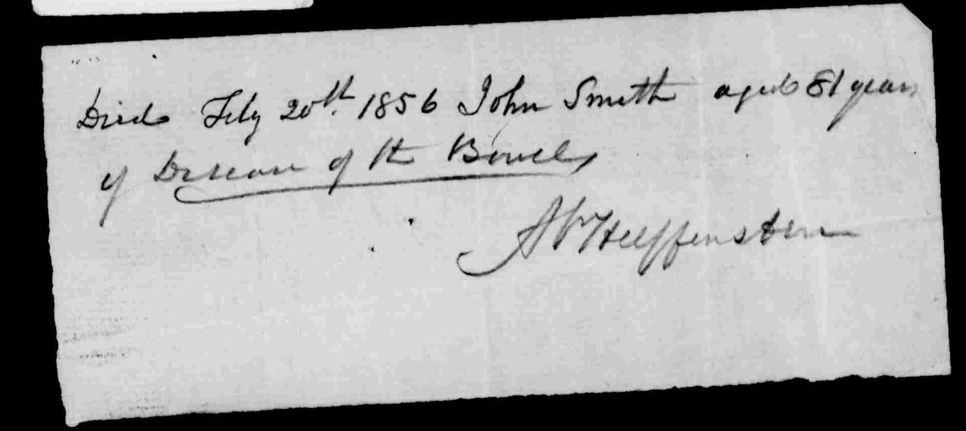 John Montague Smith