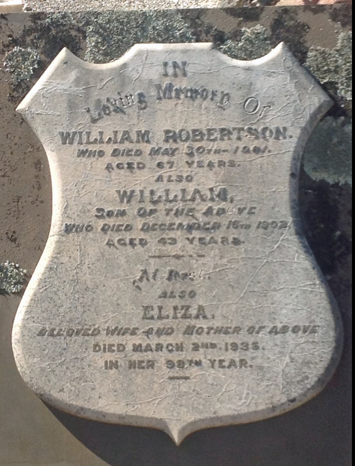 William Box Robertson
