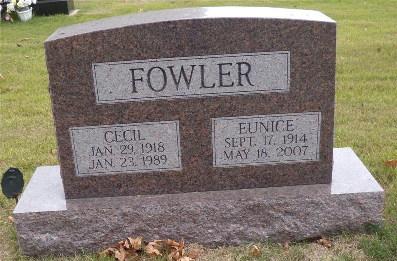 Cecil Ray Fowler