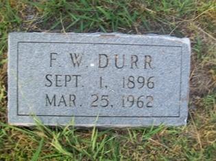 Waldo Durr