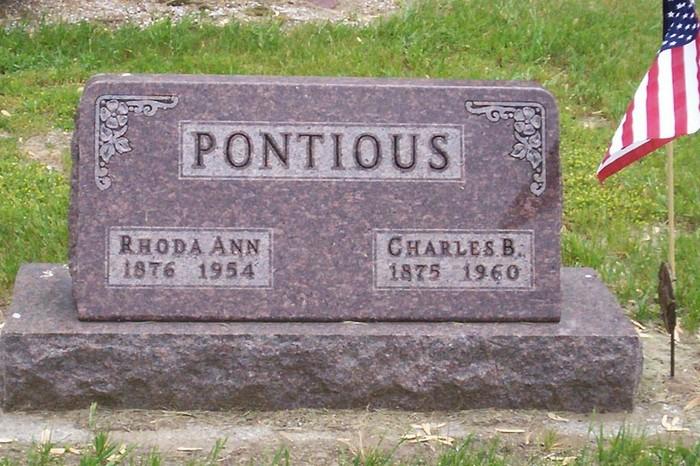 Charles Clarence Pontius