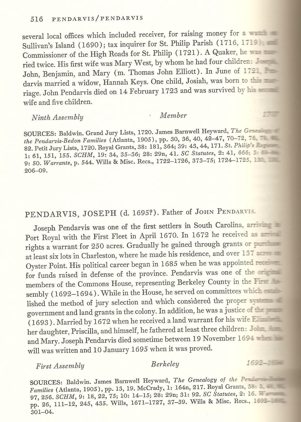 Joseph Pendarvis