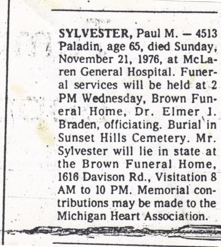 Manchester Sylvester