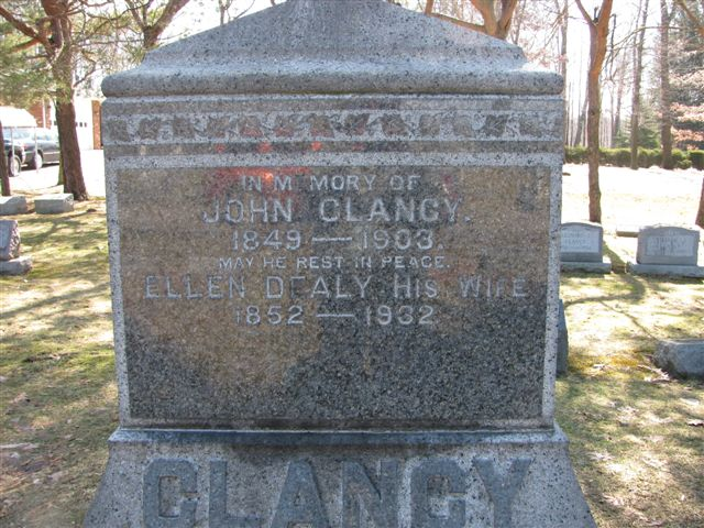 Cornelius E Clancy