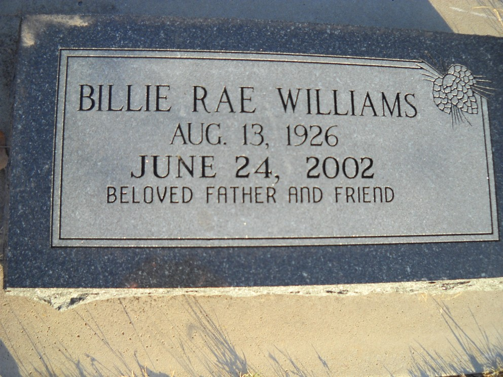 Billy Ralph Williams