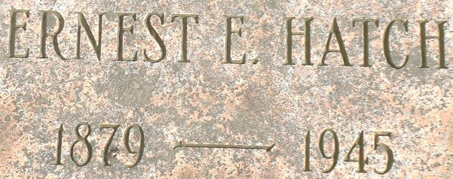 Earl E Hatch