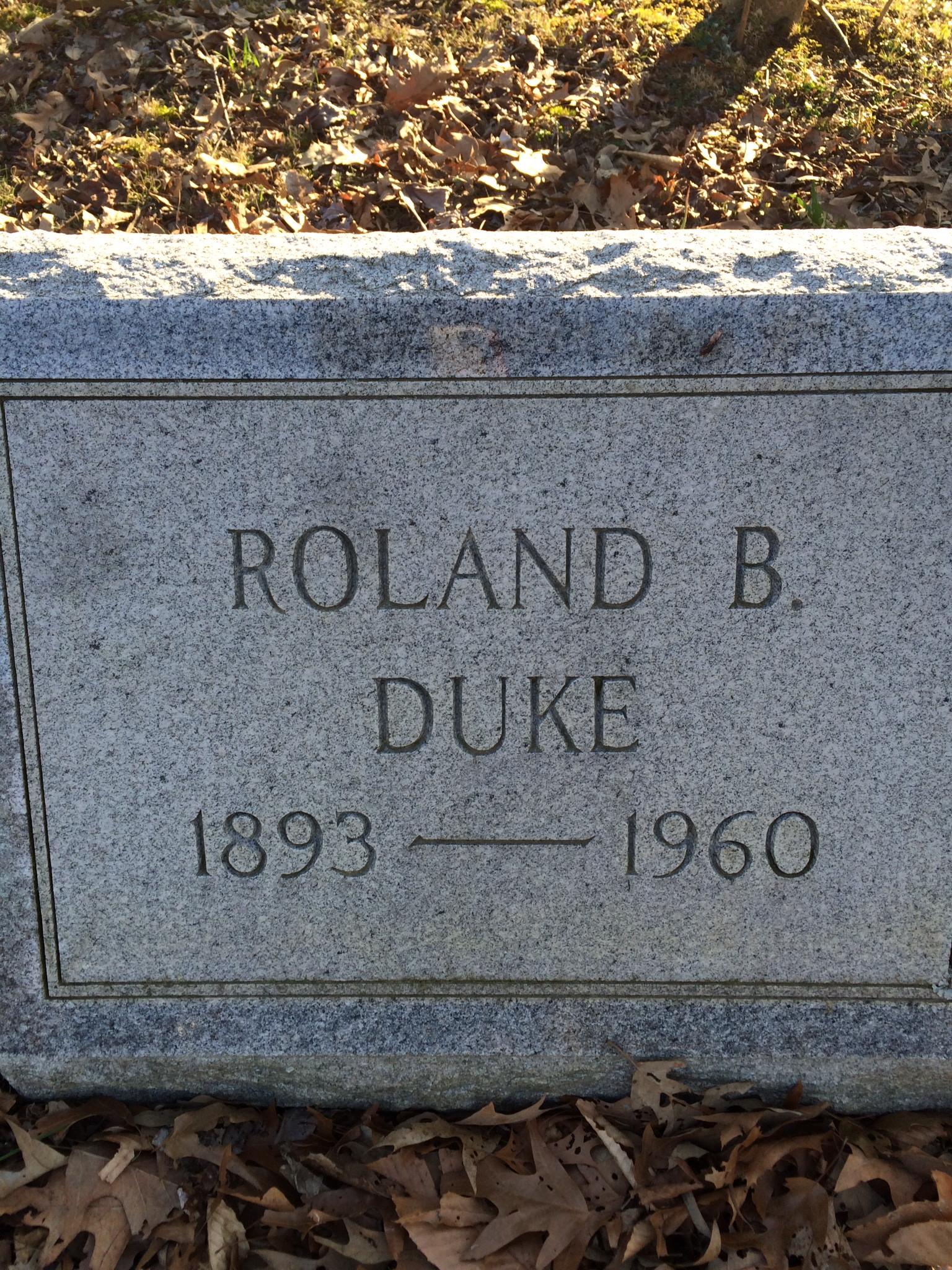 Roland Benjamin Duke