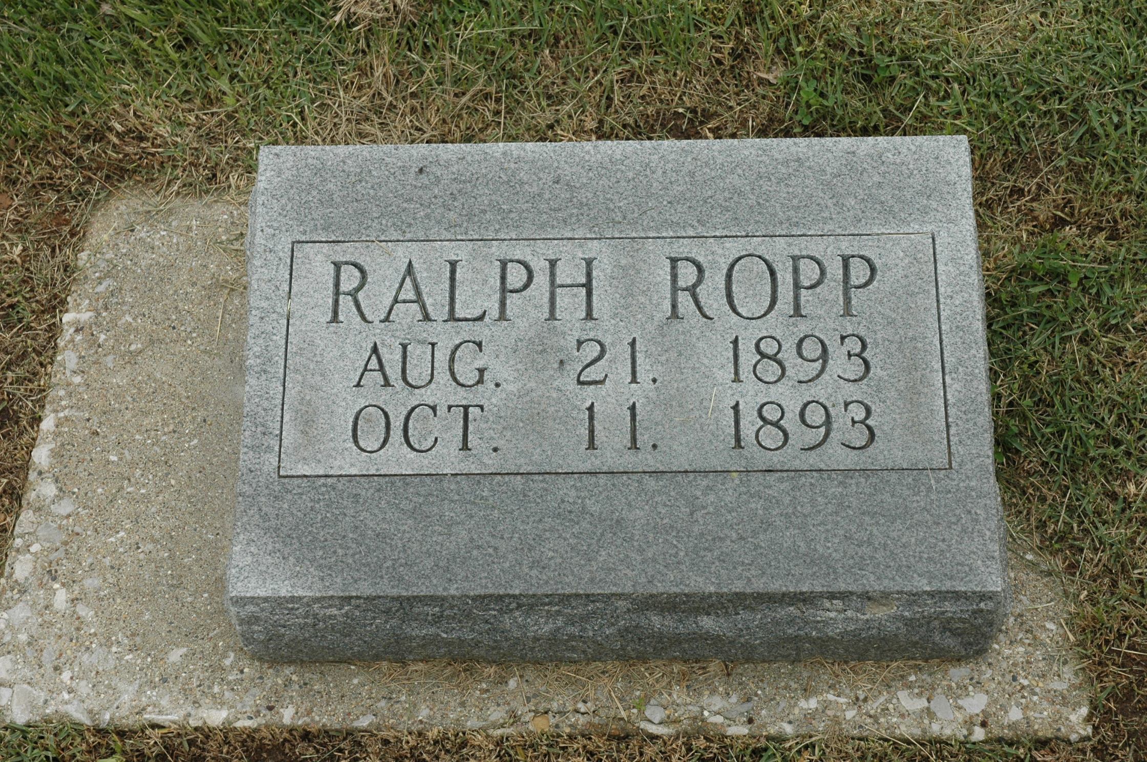 Ralph L Ropp