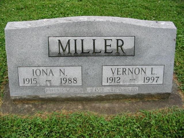 Vernon C Miller
