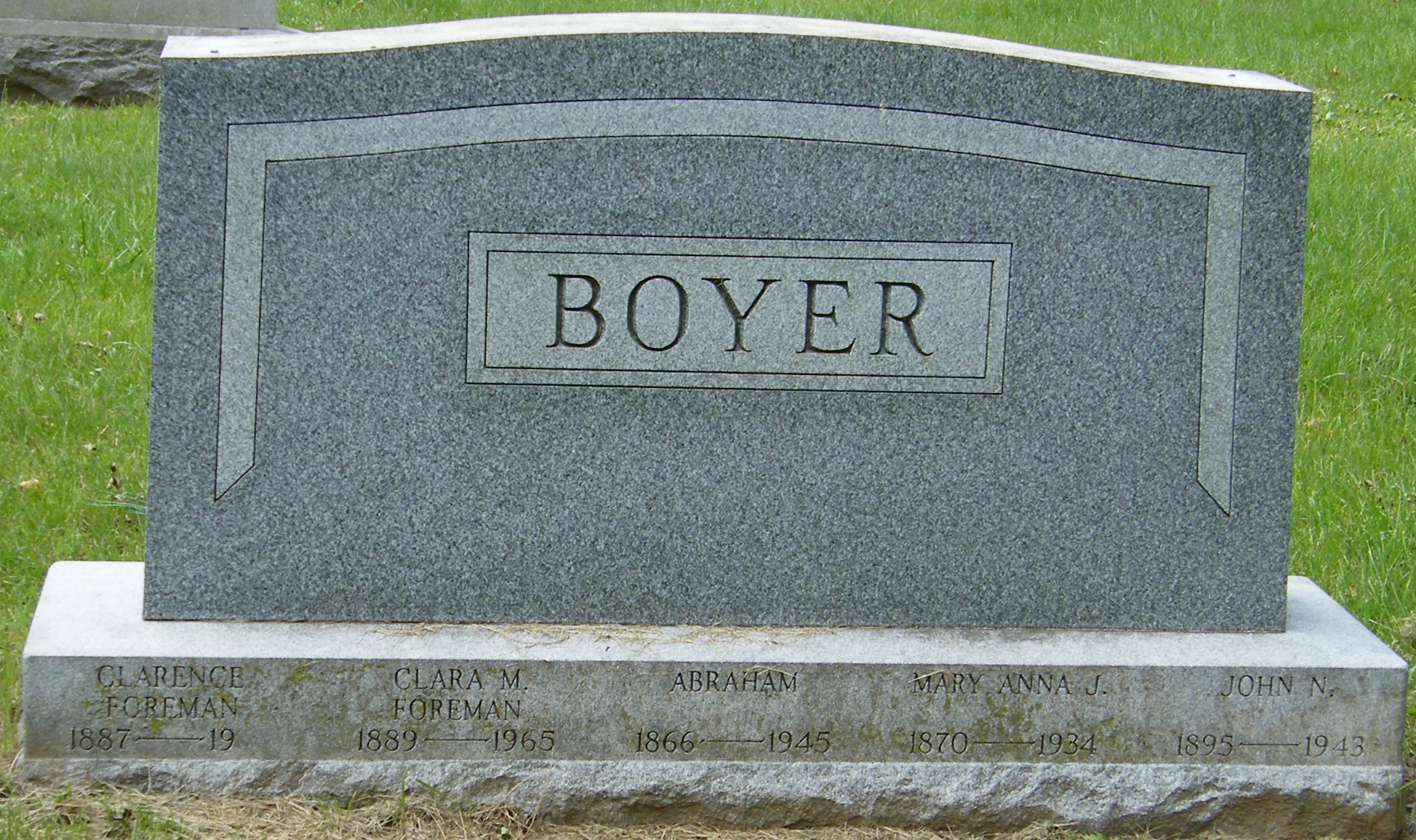 Abraham Lincoln Boyer