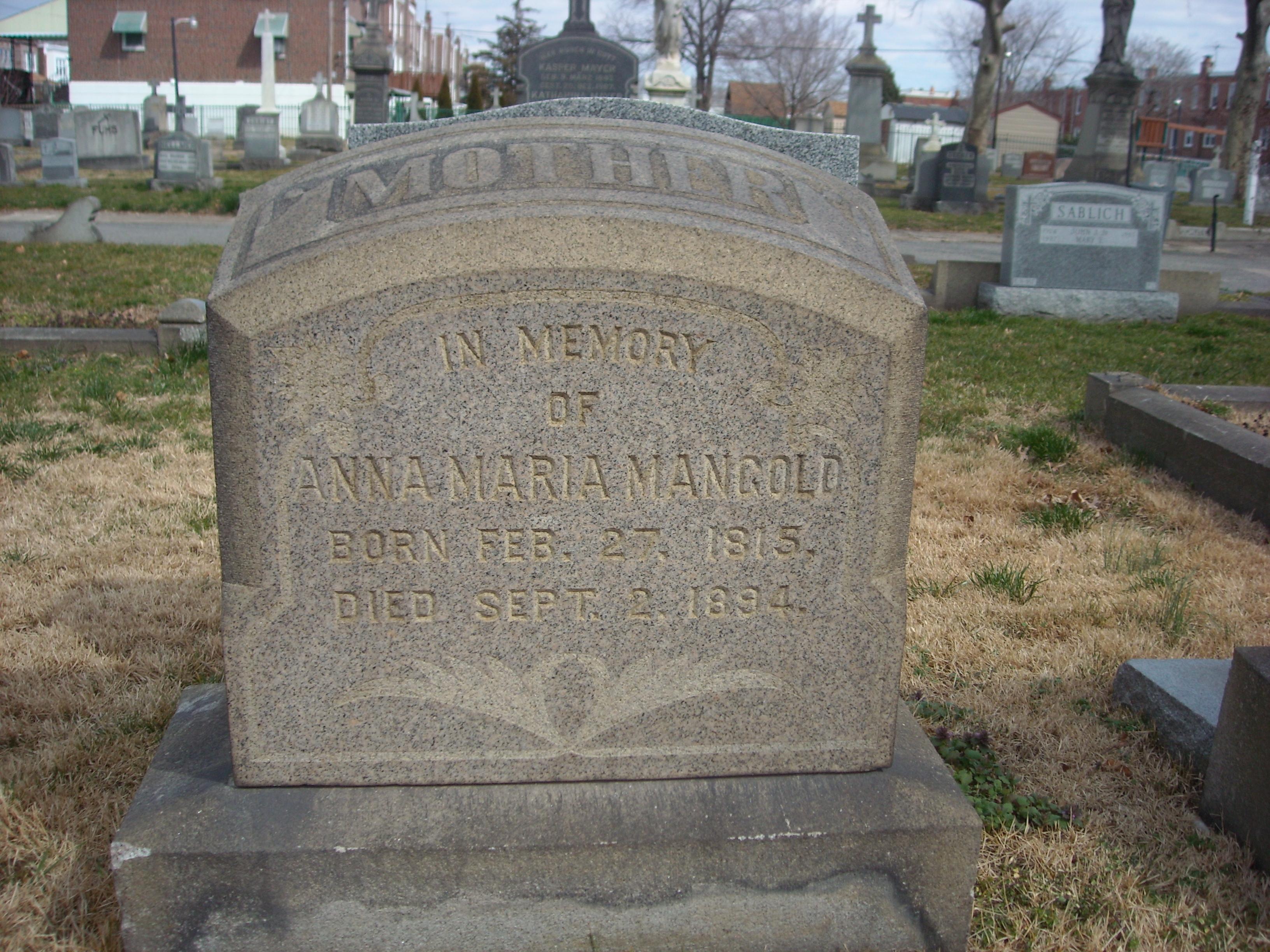 Anna Maria Mangold