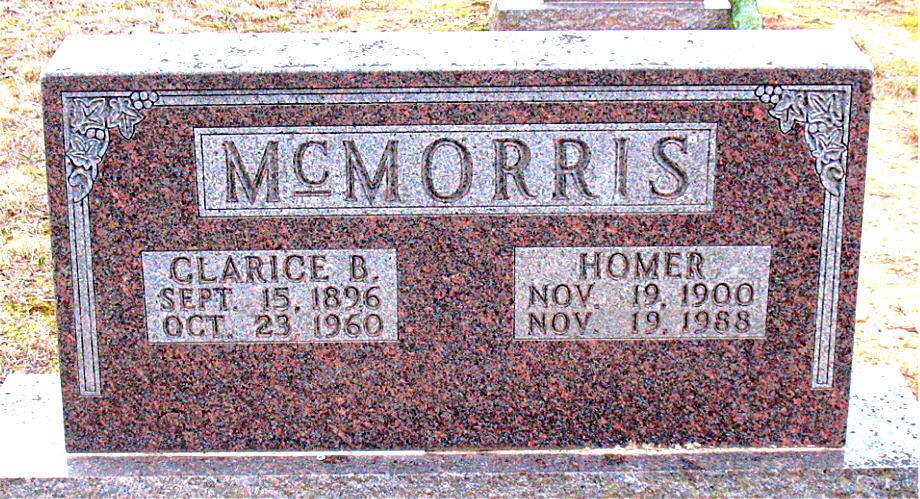 Homer R McMorris