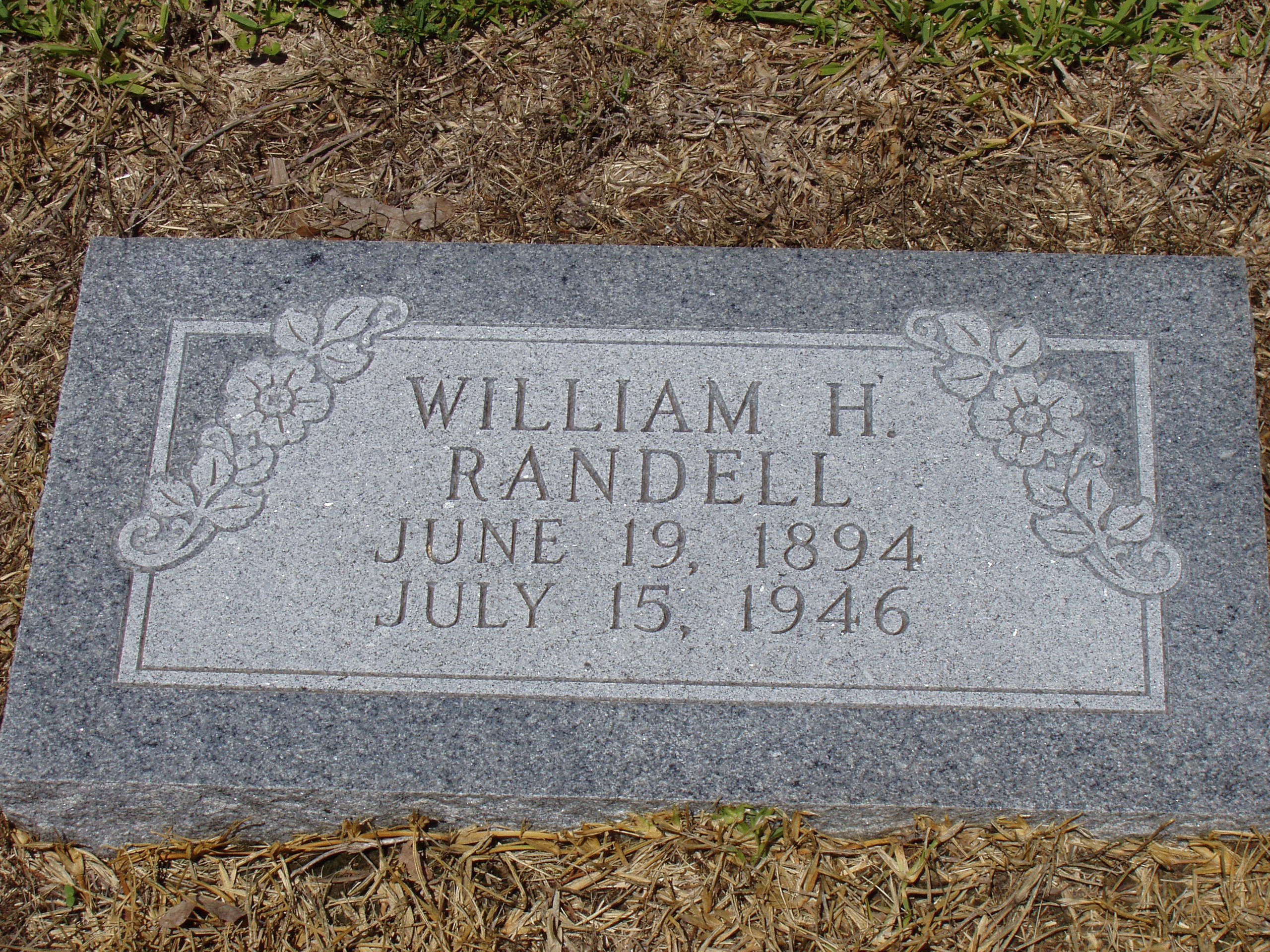 William H Randell