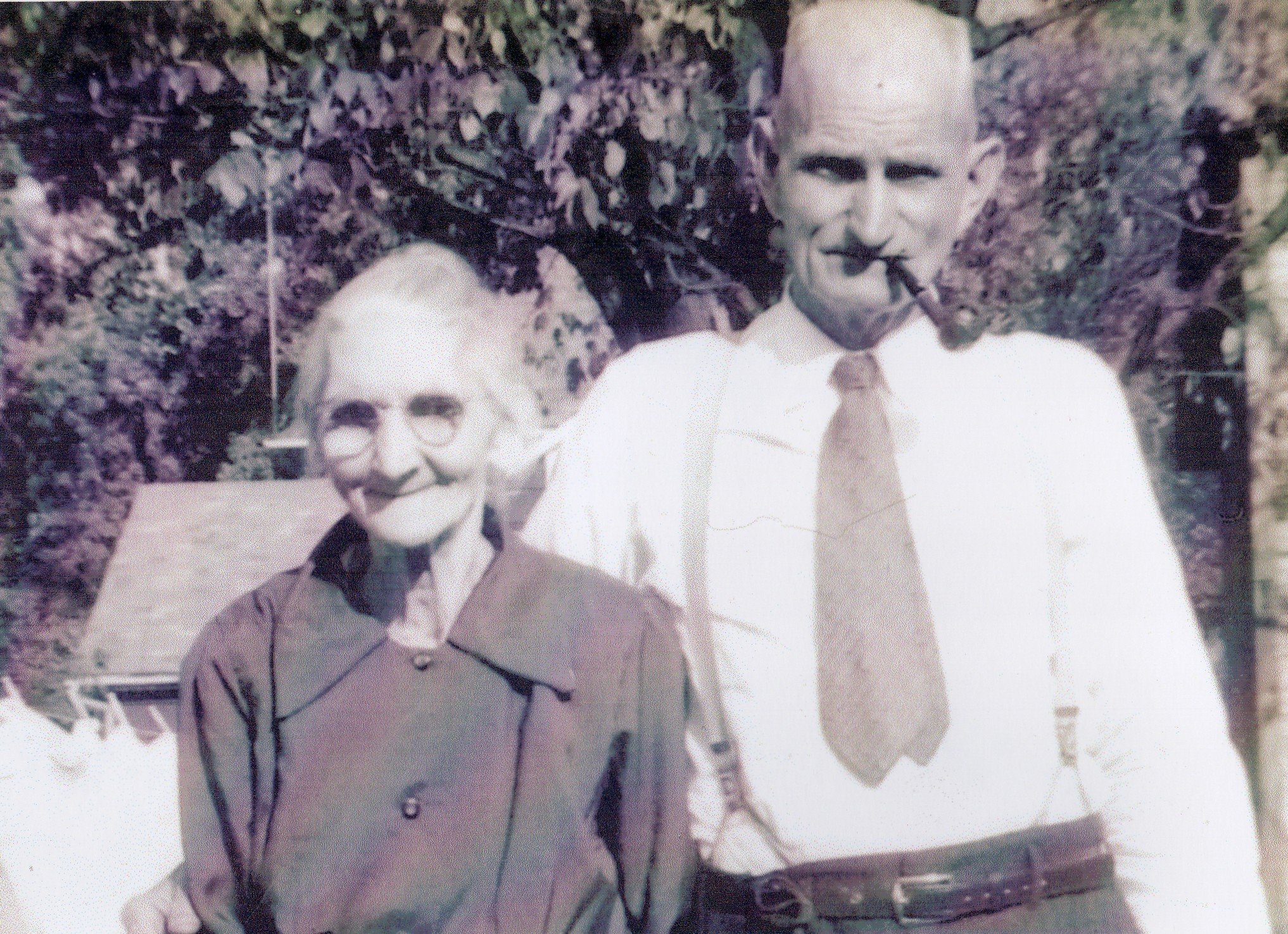Nanie Taylor Hall and William Hall
