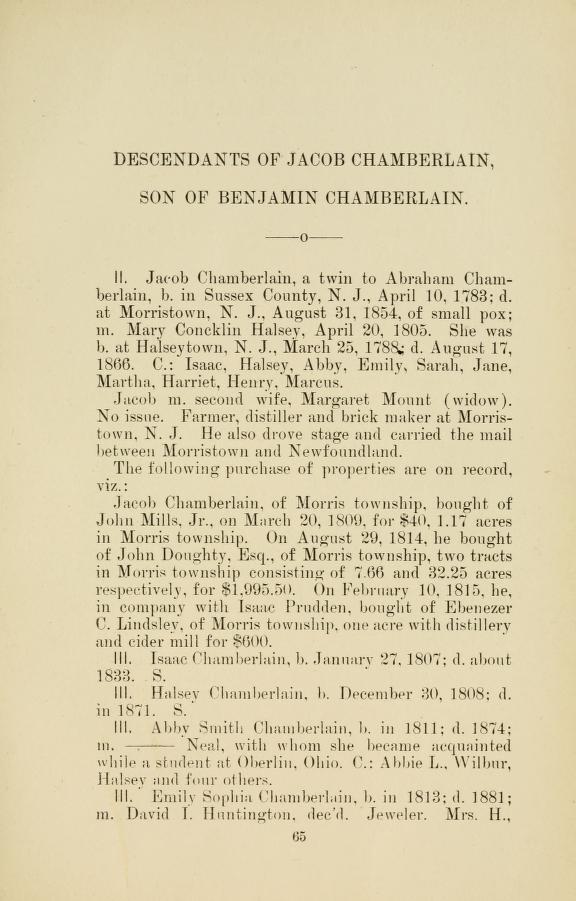 Jacob Bayley Chamberlain