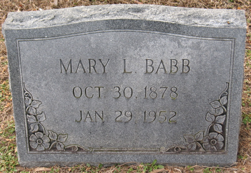 Mary Louise Babb