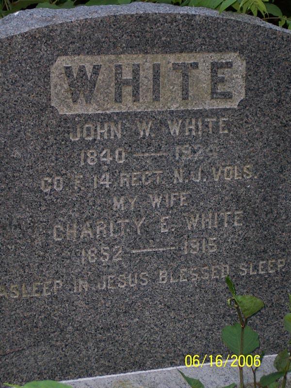 John W White